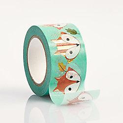 Fox Colorful Washi Tape