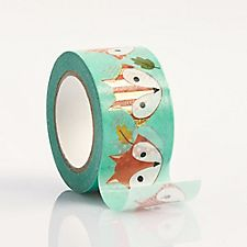 Fox Colorful Washi Tape