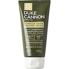 Duke Cannon Shaving Cream