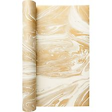 Gold Marble Table Runner