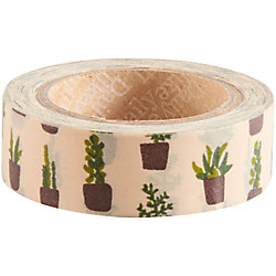 Cacti & Succulents Washi Tape
