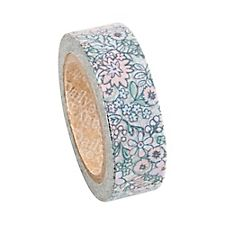 Tiny Faded Flower Washi Tape