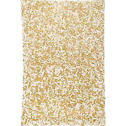 Gold Block Print on Cream Fine Paper