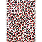 Red Leopard Wrapping Paper