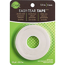 Easy Tear Tape 1/4