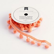 Ribbon and Trim - Pink Pom Pom