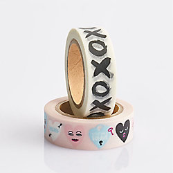 Conversation Hearts XOXO Washi Tape