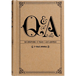 Q&A 5 Year Journal