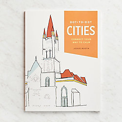Cities Dot To Dot Book