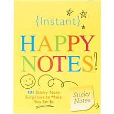 Instant Happy Sticky Notes