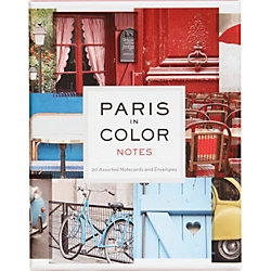Paris In Color Note Cards