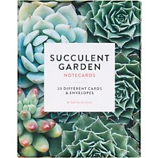 Succulent Garden Note Cards