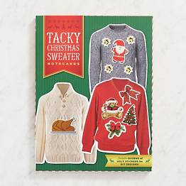 Tacky Christmas Sweater Holiday Card Set