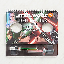 Star Wars Lightsaber Thumb Wrestling Game in a Book