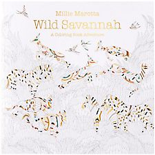 Wild Savannah Coloring Book