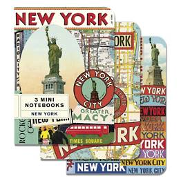 New York City Mini Journals
