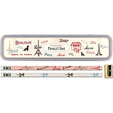 Cavallini Vintage Paris Pencil Tin