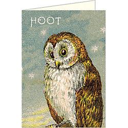 Cavallini Vintage Owl Note Cards