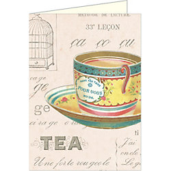 Cavallini Vintage Tea Note Cards