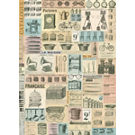 Cavallini French Ephemera Wrapping Paper