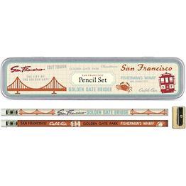 San Francisco Pencil Tin
