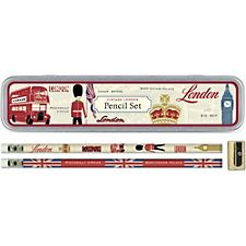 Cavallini Vintage London Pencil Tin