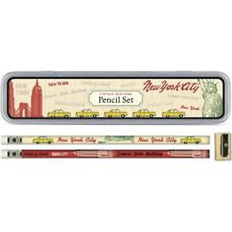 Vintage New York Pencil Tin