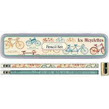Cavallini Vintage Bicycles Pencil Tin