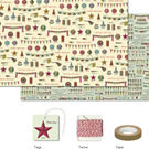 Cavallini Celebrations Gift Wrap Pack