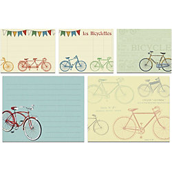 Cavallini Bicycles Sticky Note Set