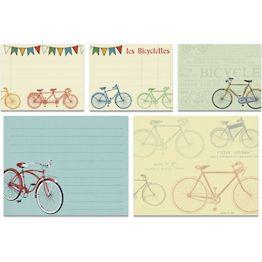 Bicycles Sticky Note Set