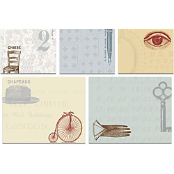 Cavallini Curiosities Sticky Note Set
