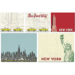 Cavallini New York City Sticky Note Set
