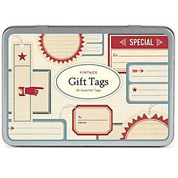 Cavallini Vintage  Gift Tags