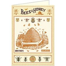 Cavallini Bees & Honey Card