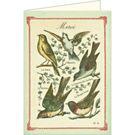 Cavallini Merci Birds Card