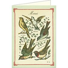 Cavallini Merci Birds Card