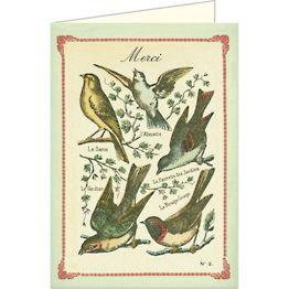 Merci Birds Card