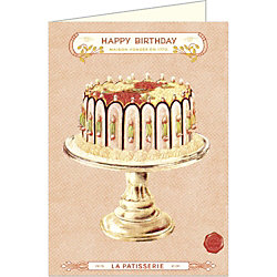 Cavallini Happy Birthday Cake Card