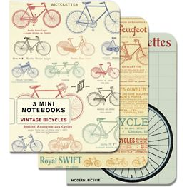 Vintage Bicycles Mini Journals