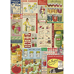 Cavallini Canning Wrapping Paper