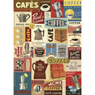 Cavallini Coffee Wrapping Paper