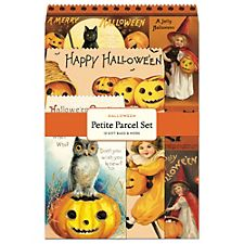 Cavallini Halloween Gift Pack Bag