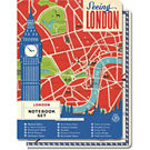 Cavallini Vintage London Notebook Set