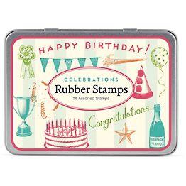 Celebrations Rubber Stamp Set