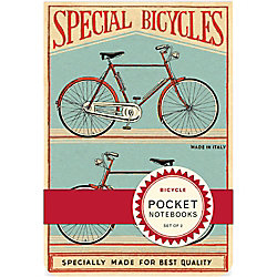 Cavallini Vintage Bicycles Pocket Notebooks