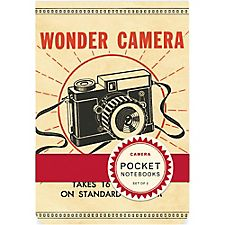 Cavallini Vintage Camera Pocket Notebooks