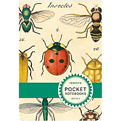 Cavallini Insects Pocket Notebooks