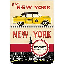 Cavallini New York Pocket Notebooks