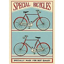 Cavallini Special Bicycles Wrapping Paper
